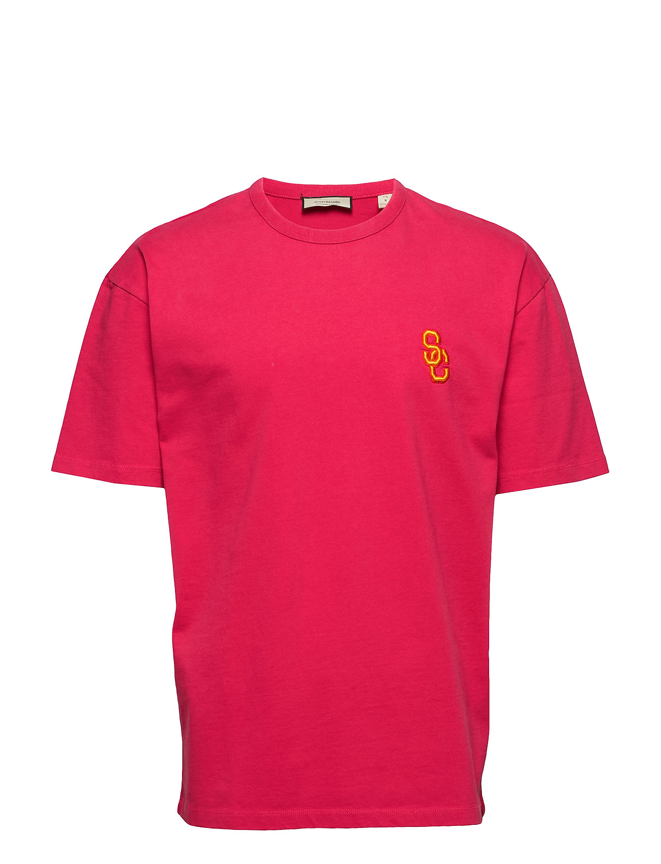 Shoulder Tee WithmagentaScotchamp; Oversized Heavy Jersey Soda In Dropped Quality m0OvNn8wy