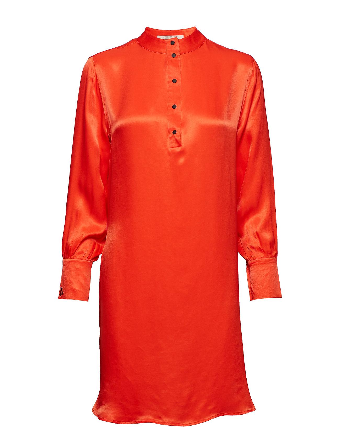 SCOTCH & SODA Shirt Dress In Viscose Quality