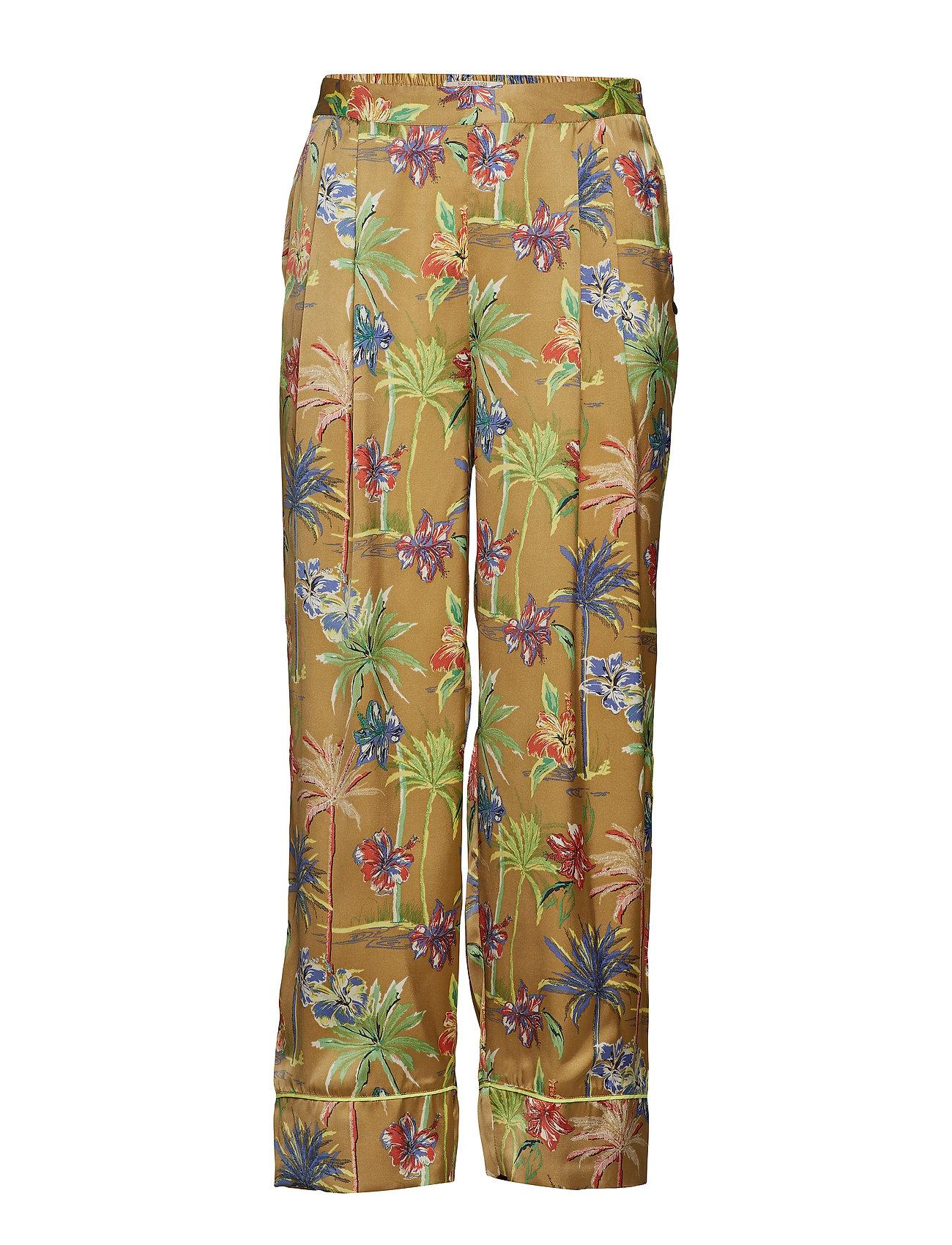 Scotch & Soda Printed wide leg pyjama inspired pants - COMBO F