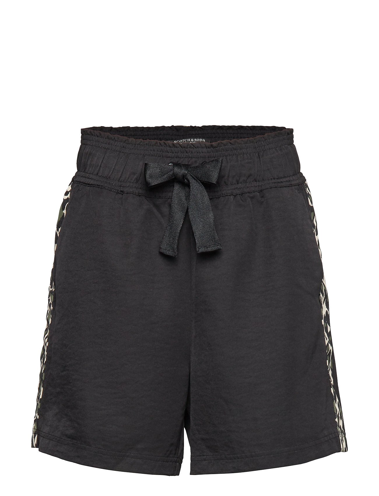 Scotch & Soda Longer length drapey shorts with contrast side panels Shorts