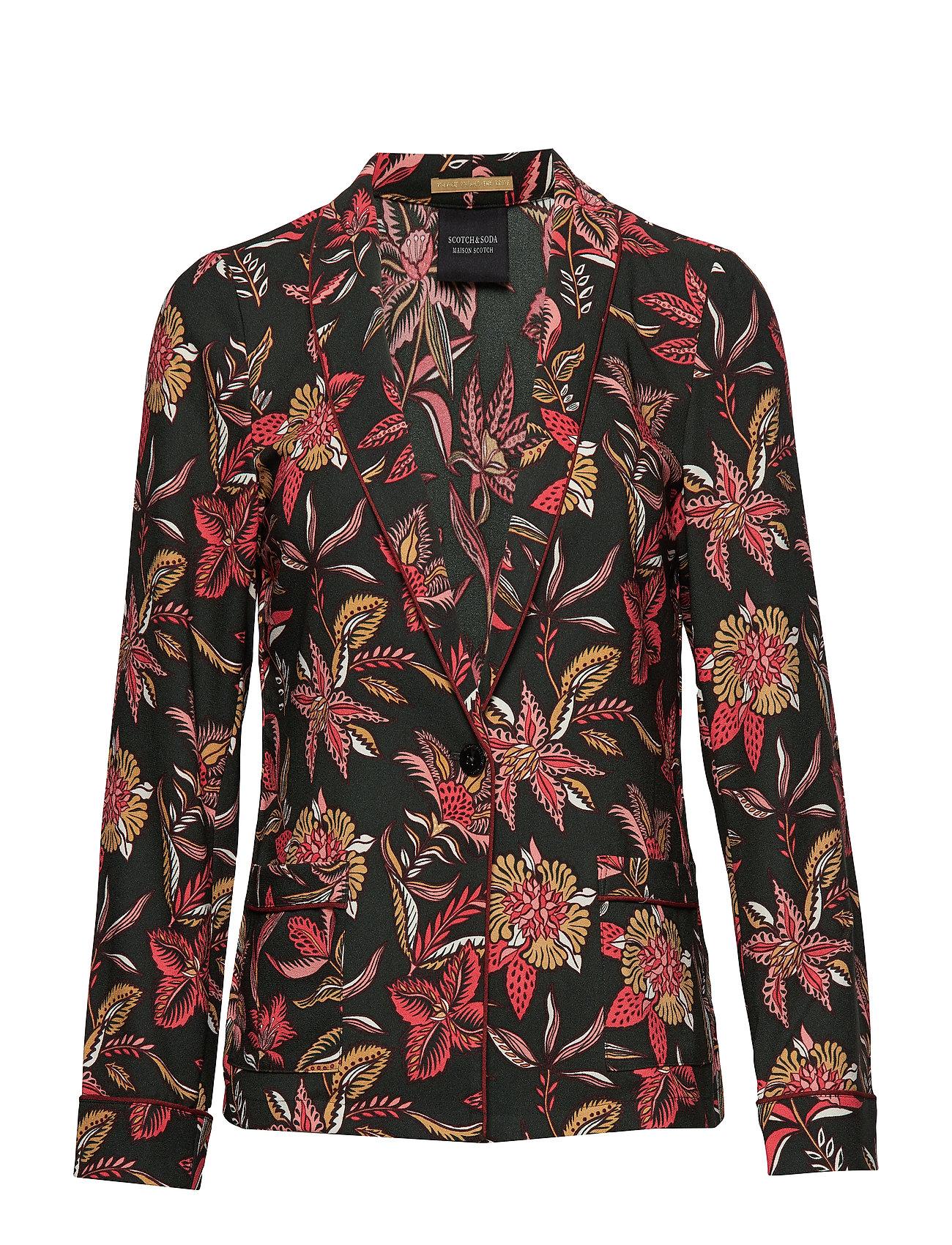 Scotch & Soda Drapey blazer in various prints Ytterkläder