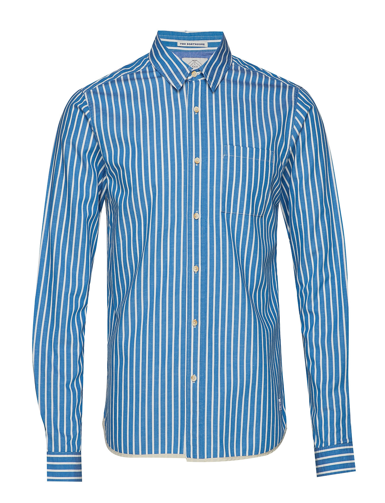Scotch & Soda Regular fit deck chair stripe shirt - COMBO A
