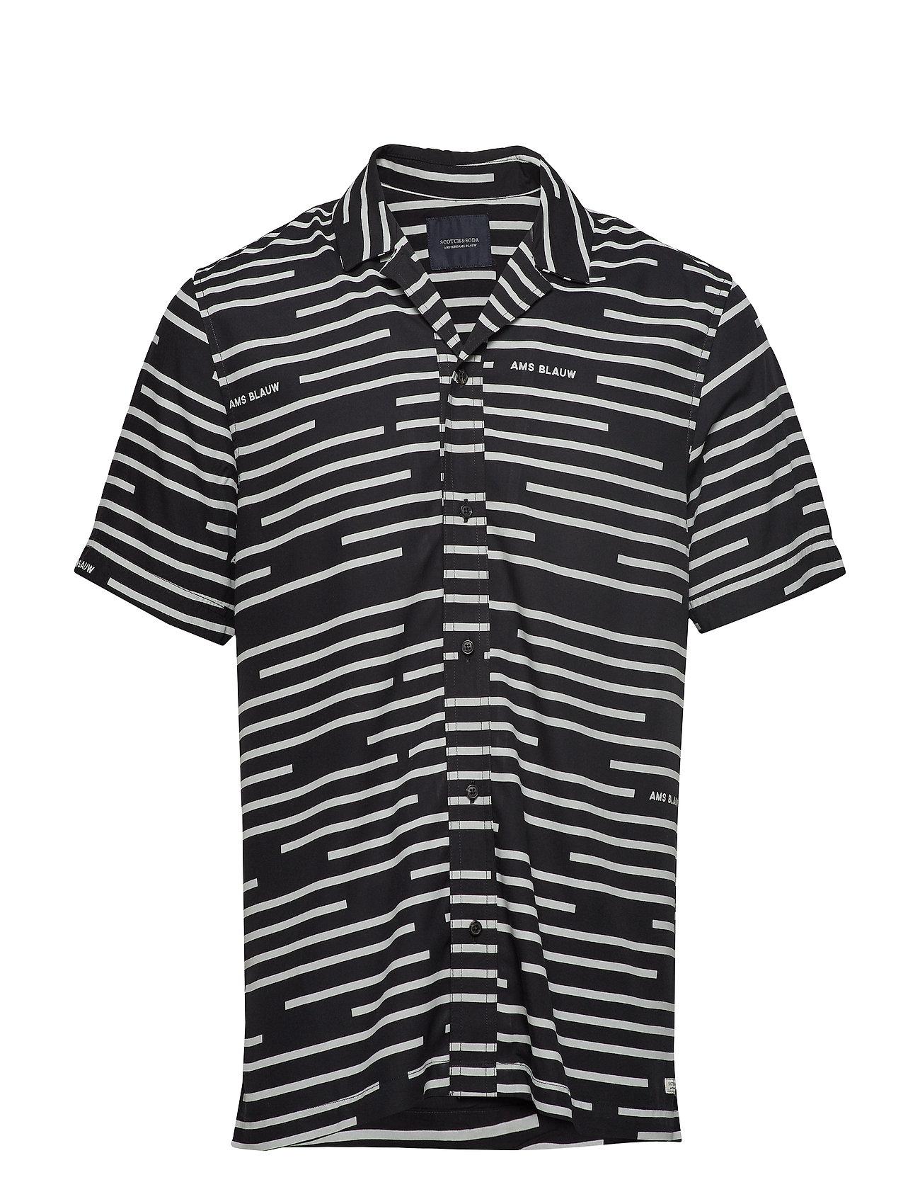Scotch & Soda Short sleeve shirt with prints - COMBO A