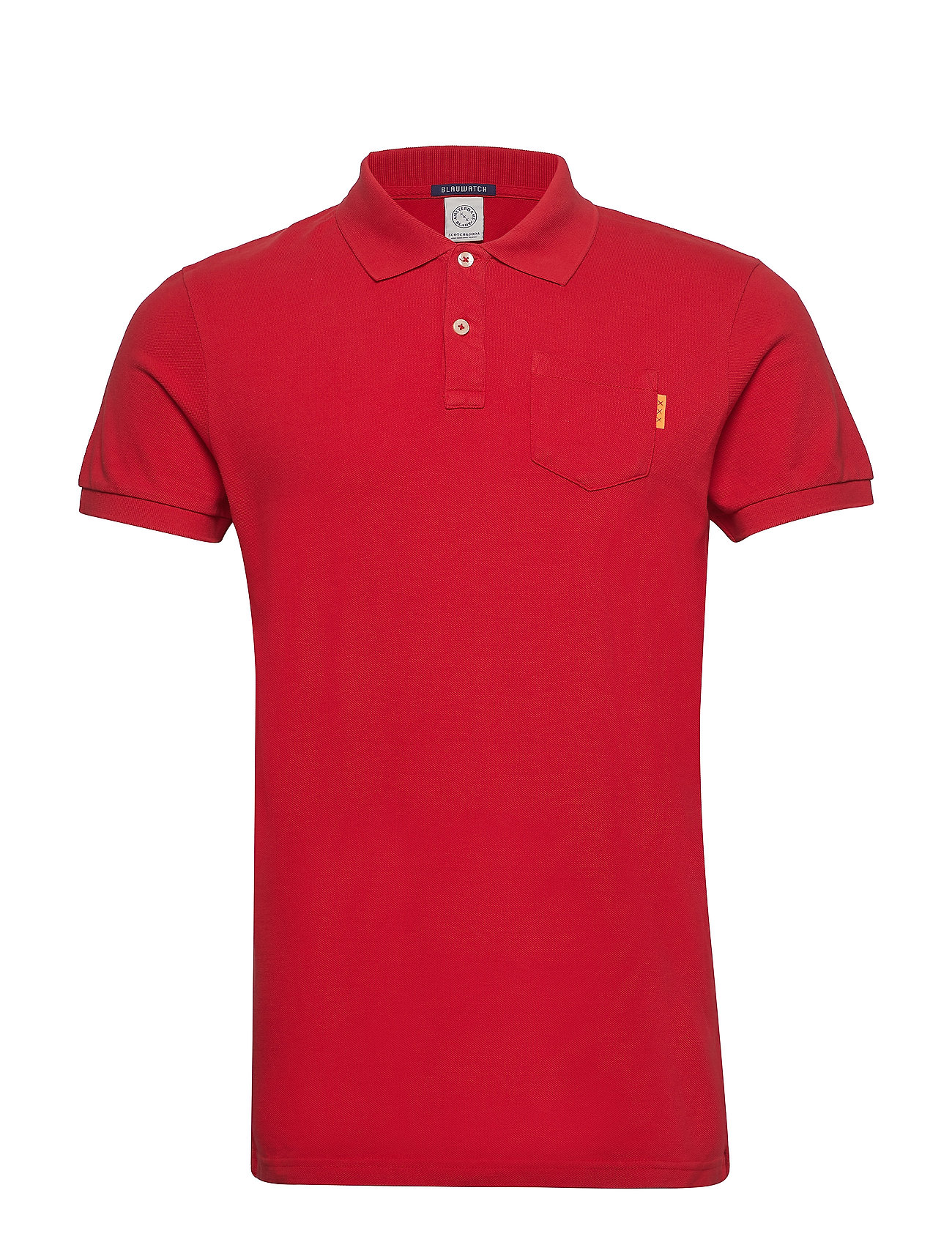 Soda Dyed Blauw Pololifeguard Garment RedScotchamp; m8N0vnw
