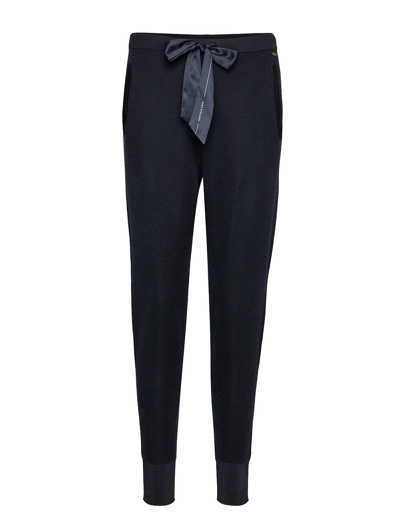 Knitted Nautical Pants Sweatpants Jogginghose Blau SCOTCH & SODA
