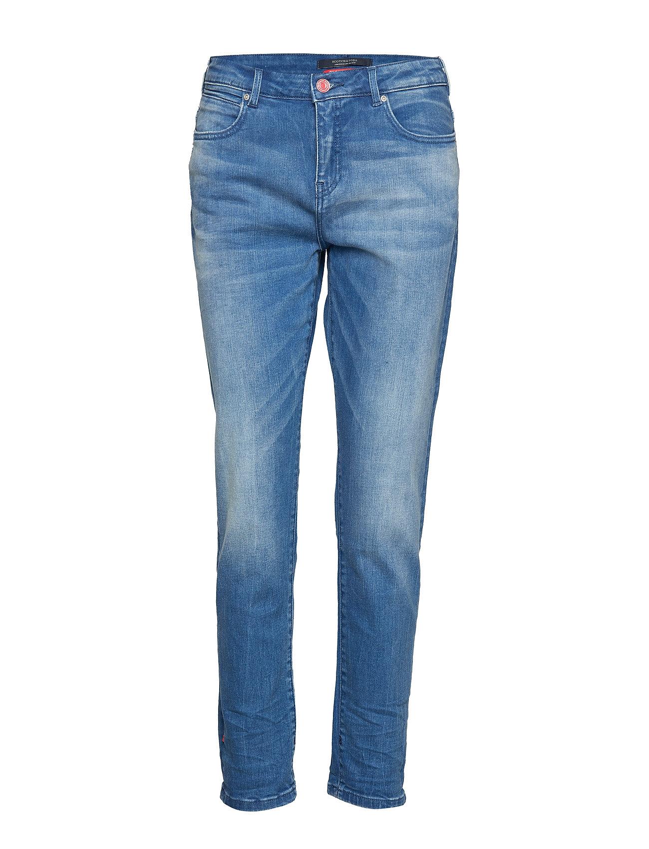Petit Ami - Rhythm And Blauw Straight Jeans Hose Mit Geradem Bein Blau SCOTCH & SODA