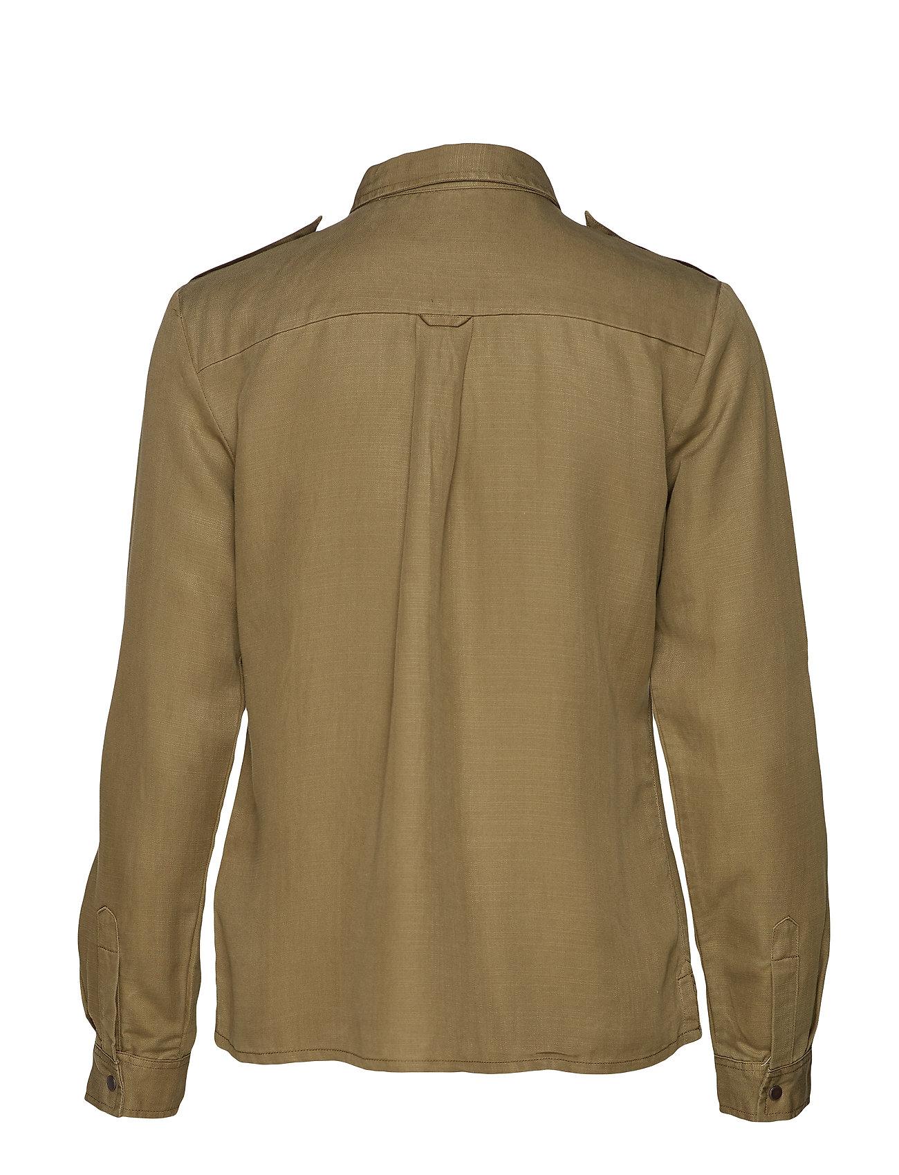 Inspired In Soda Workwear Shirt Drapy Qualitymilitary GreenScotchamp; 4A5Rj3Lq