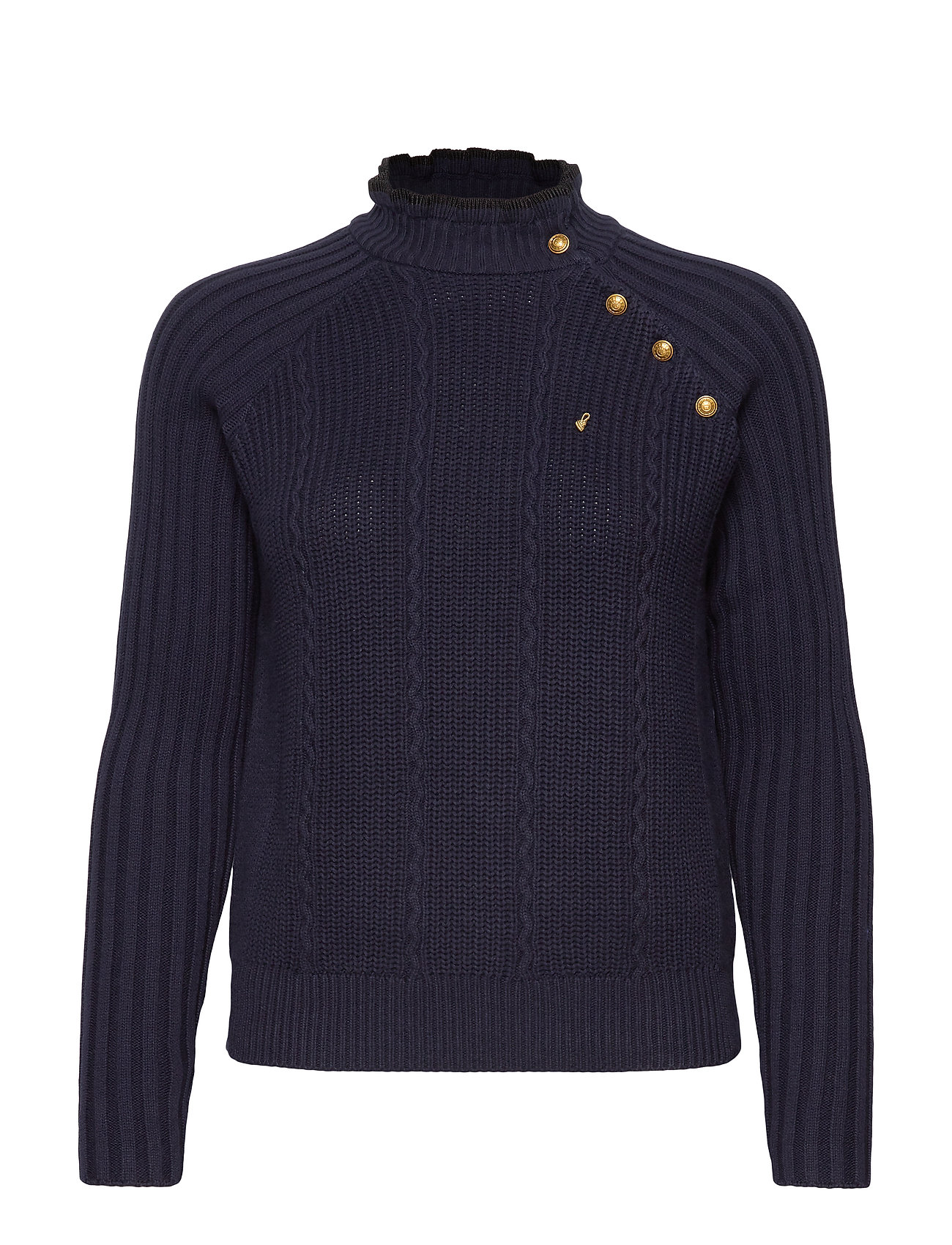 Scotch & Soda Basic pull with button details - NAVY