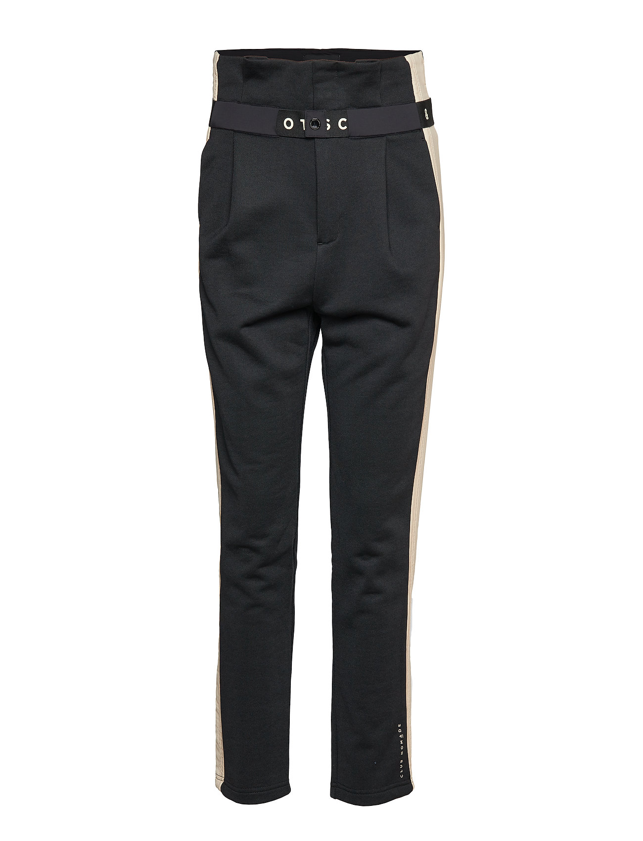 Scotch & Soda Club Nomade high waisted jogger - BLACK