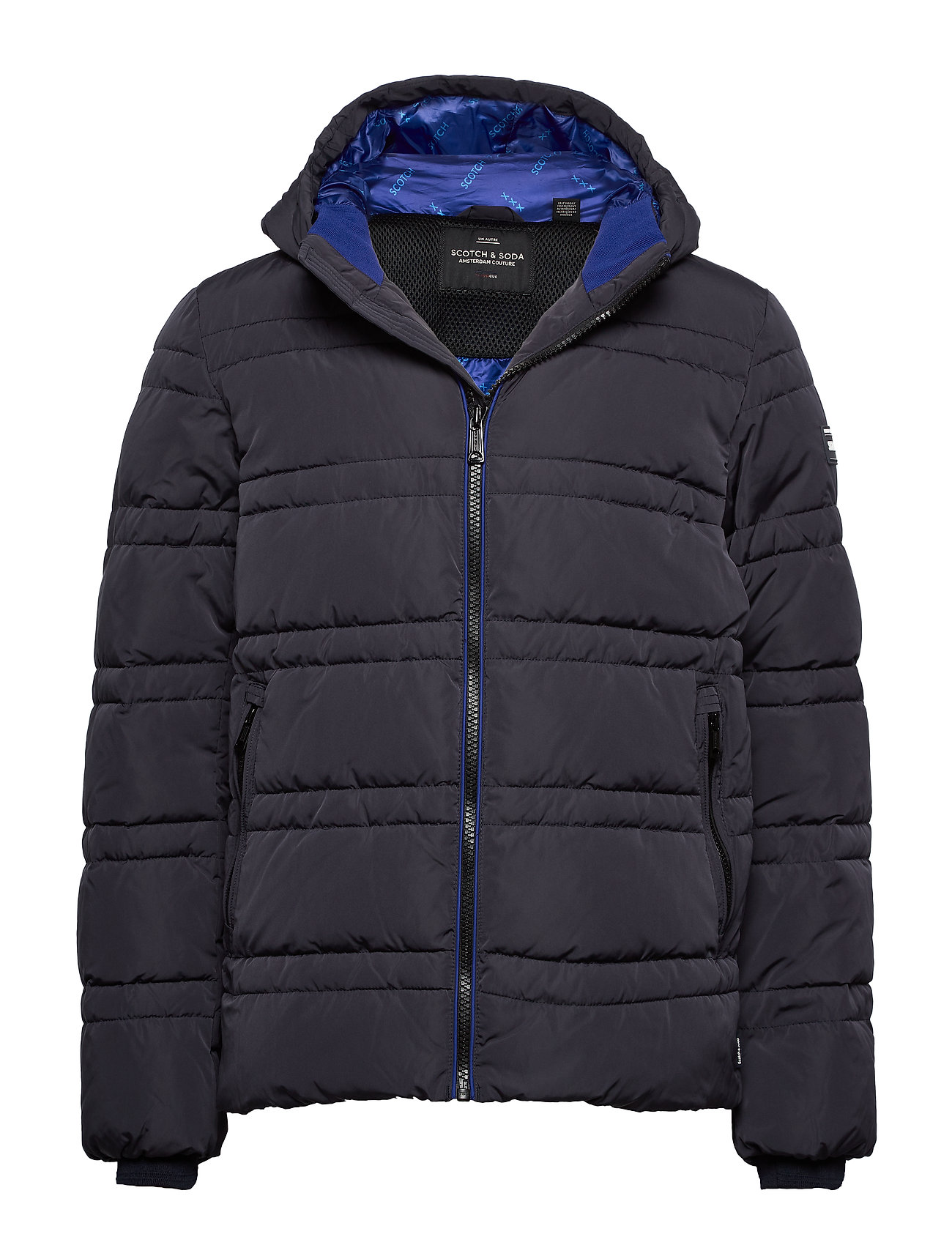 Scotch & Soda Classic hooded PrimaLoft jacket - NIGHT