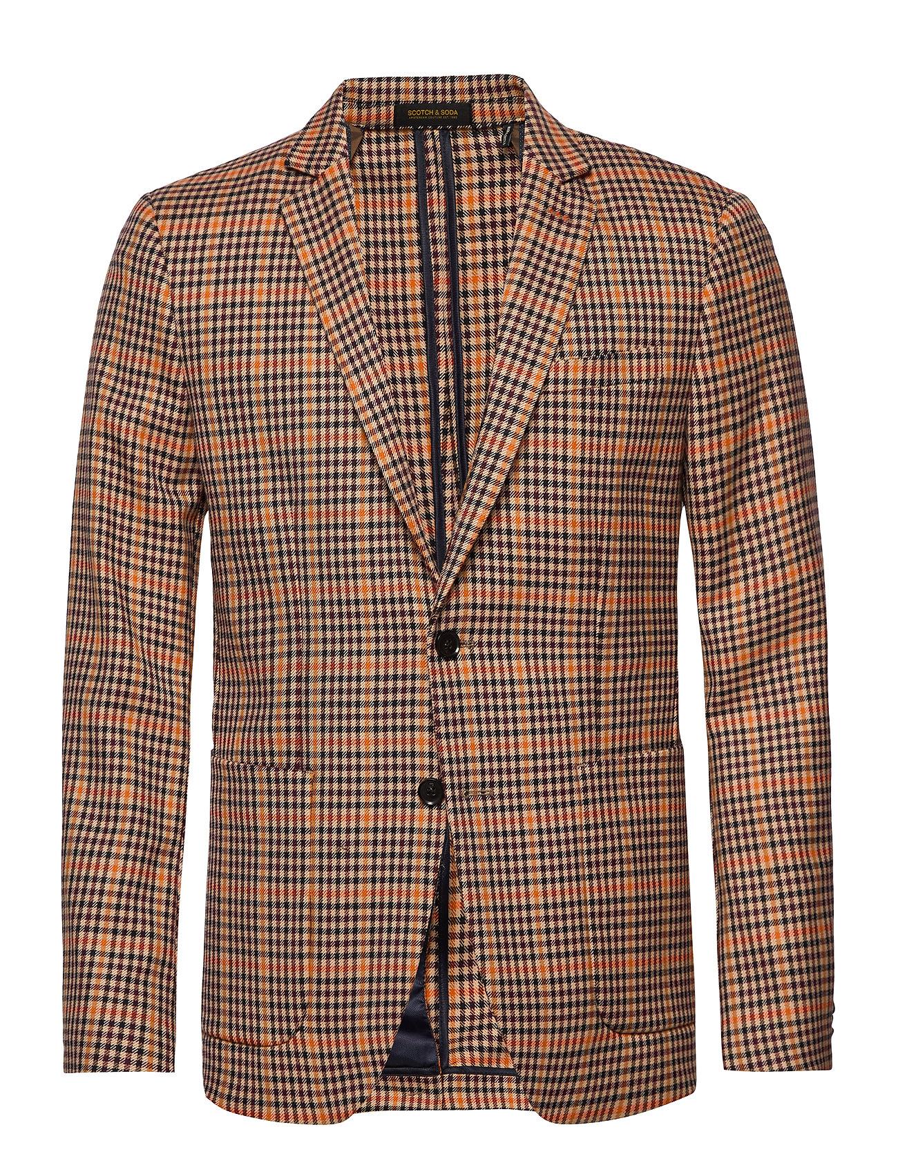 Scotch & Soda Chic unconstructed  blazer in yarn-dyed pattern - COMBO B