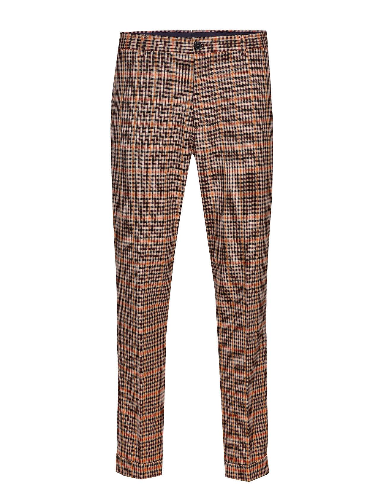 Scotch & Soda SEASONAL FIT- Chic gentlemans chino in yarn-dyed pattern - COMBO B