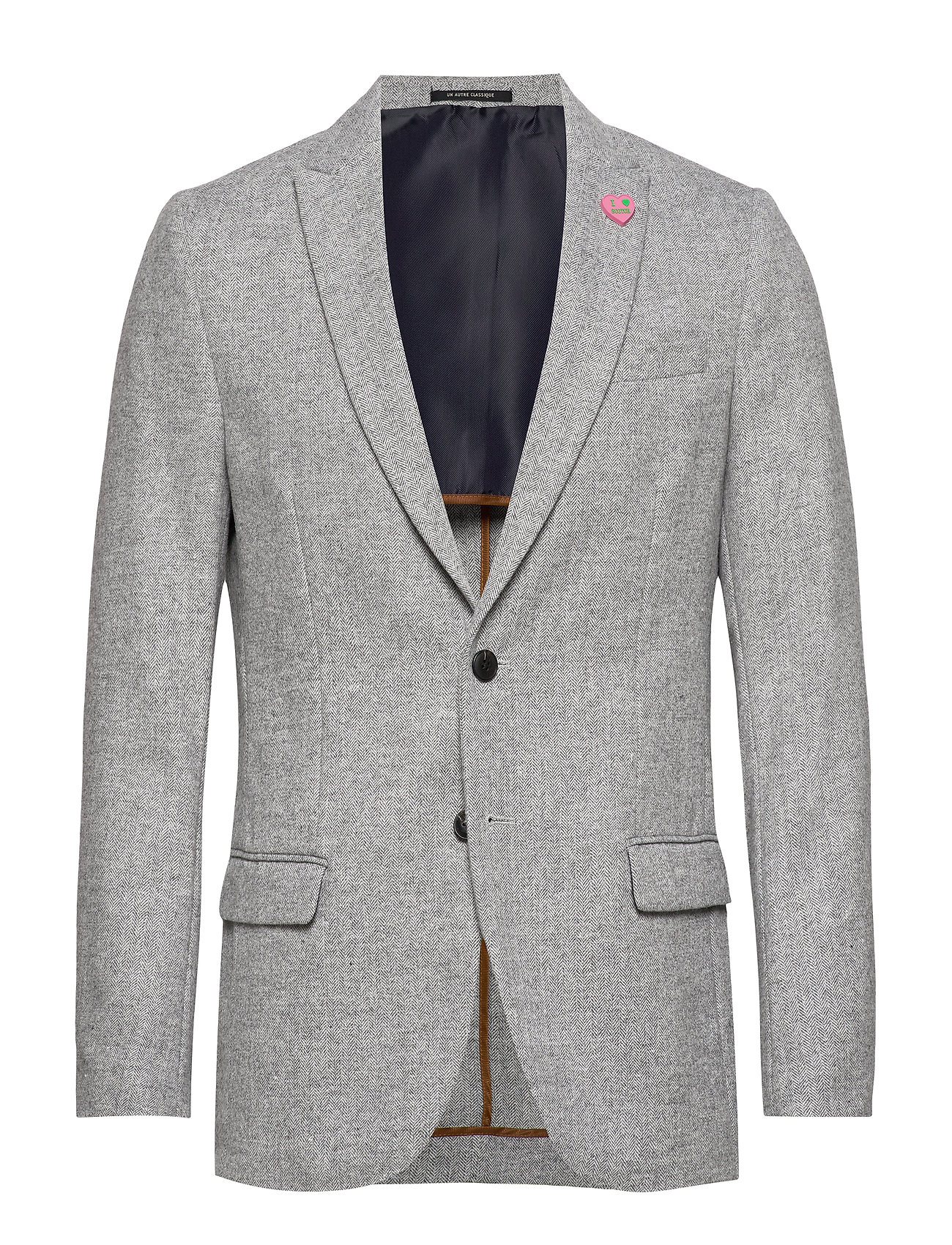 Scotch & Soda Peak lapel blazer in wool-blend quality with neps - COMBO C