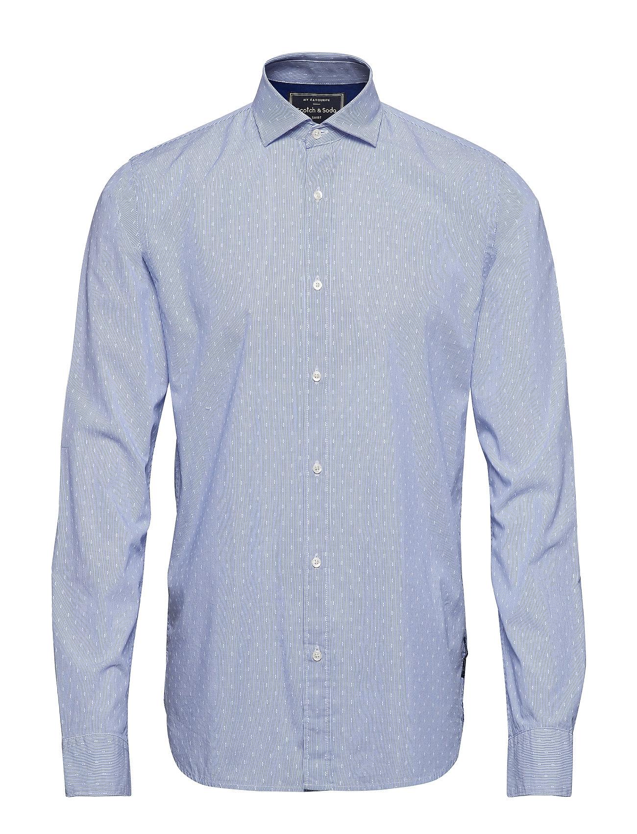 Scotch & Soda REGULAR FIT- Classic dress shirt in blue - COMBO D