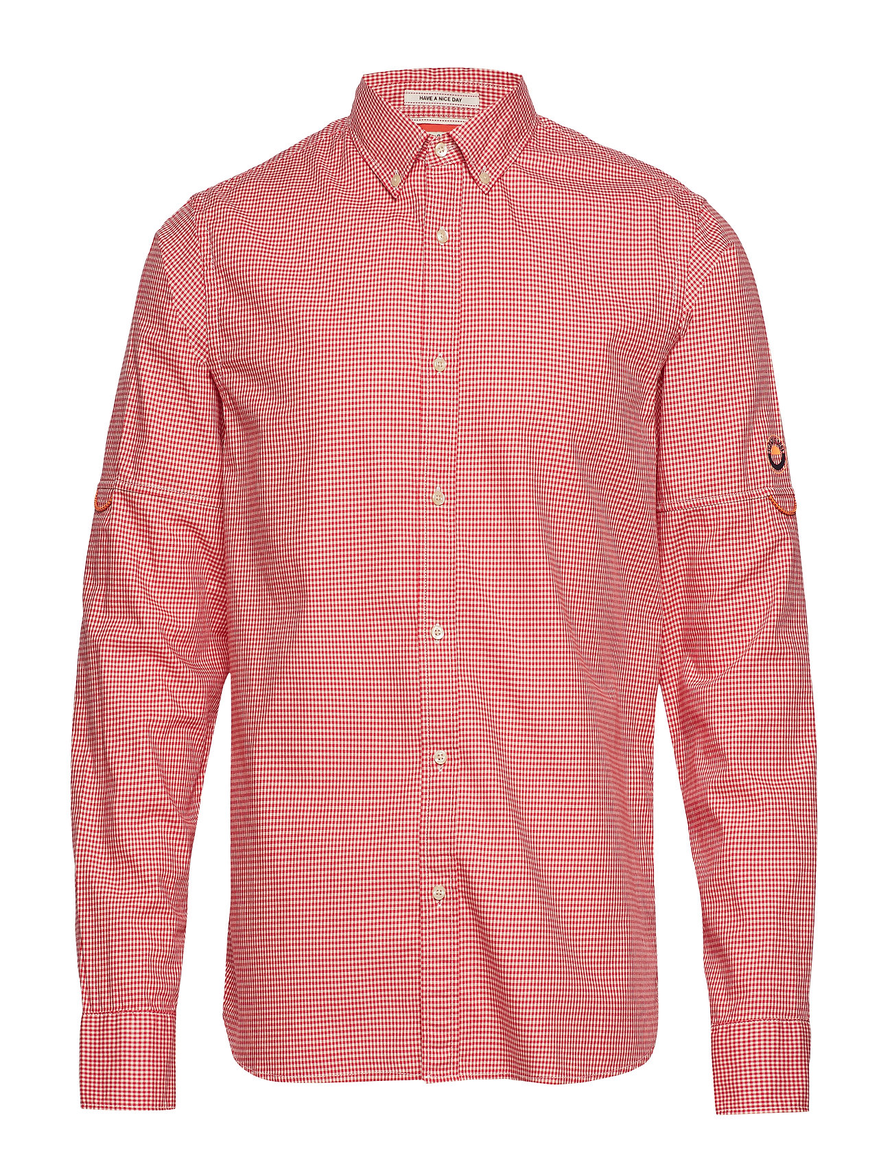 Scotch & Soda REGULAR FIT - Mini-check shirt with sleeve roll-up - COMBO A