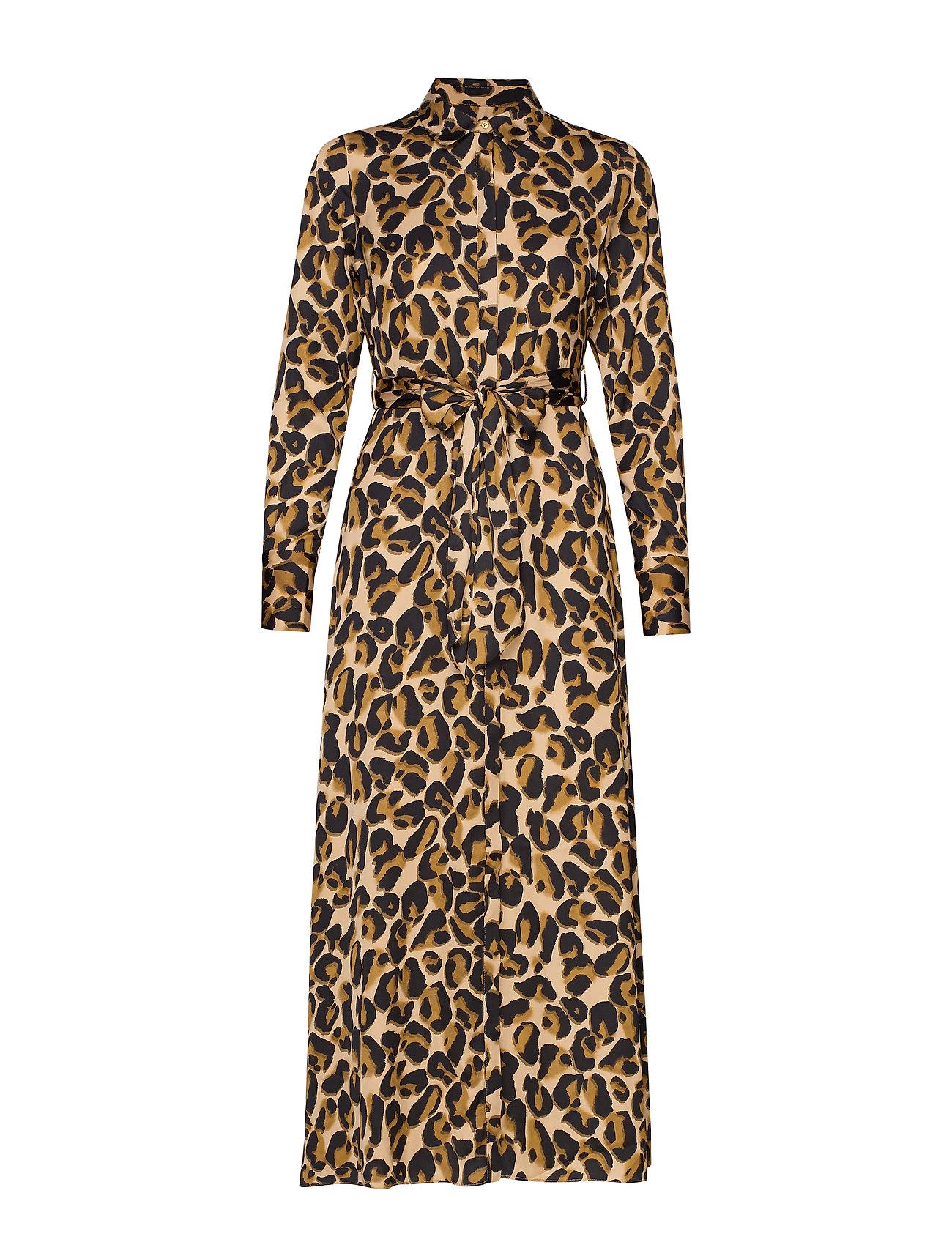 Scotch & Soda Belted maxi dress - COMBO D