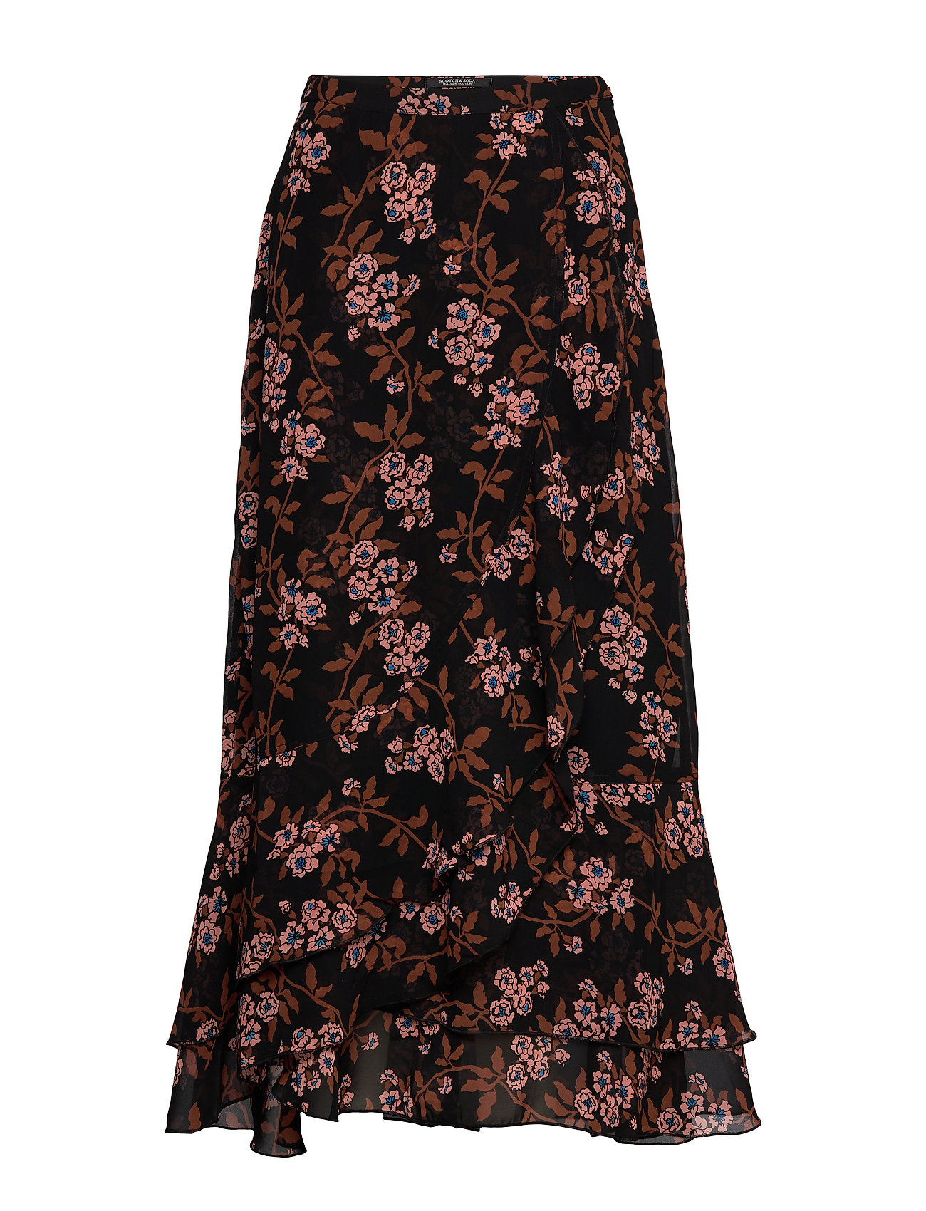 Scotch & Soda Printed maxi skirt - COMBO F