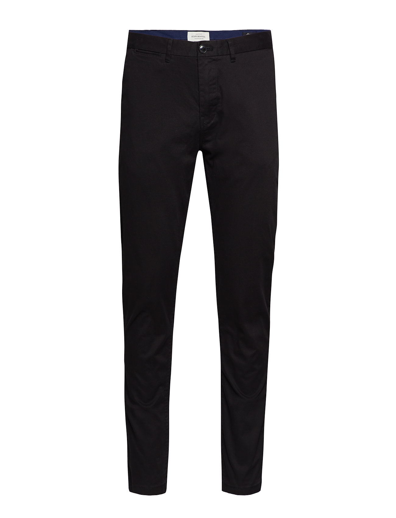 Scotch & Soda Stuart - Classic regular slim fit chino - BLACK