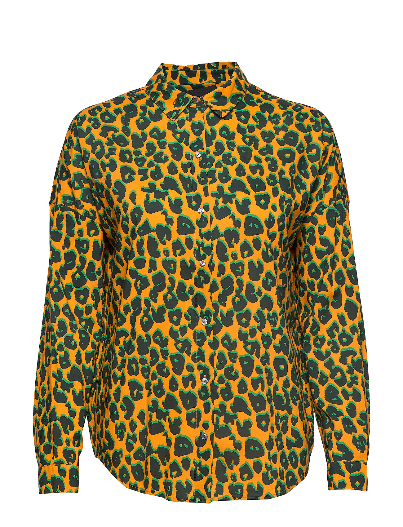 Scotch & Soda Printed cotton viscose shirt - COMBO L