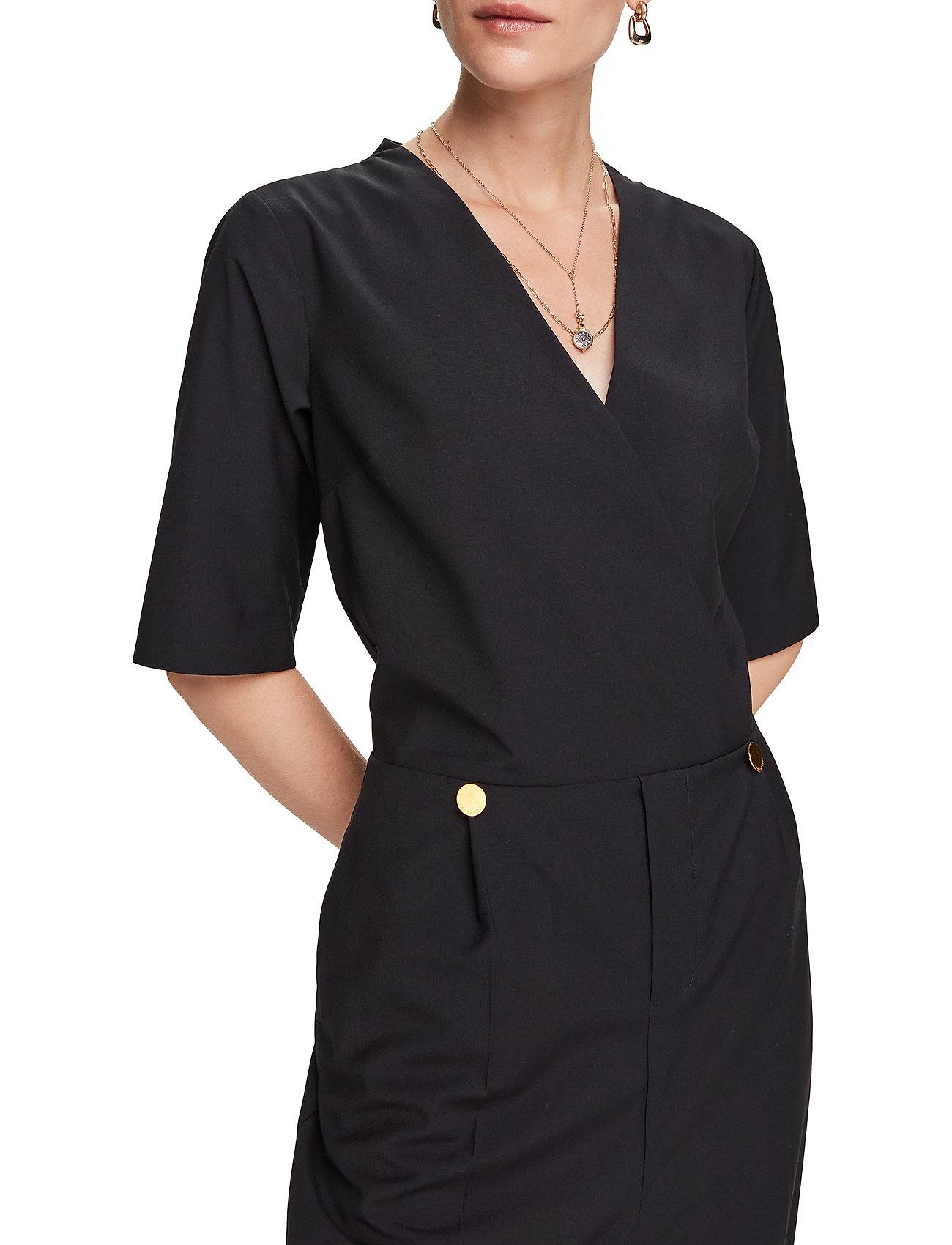 Scotch & Soda - Clean tailored all in one - jumpsuits - black - 0