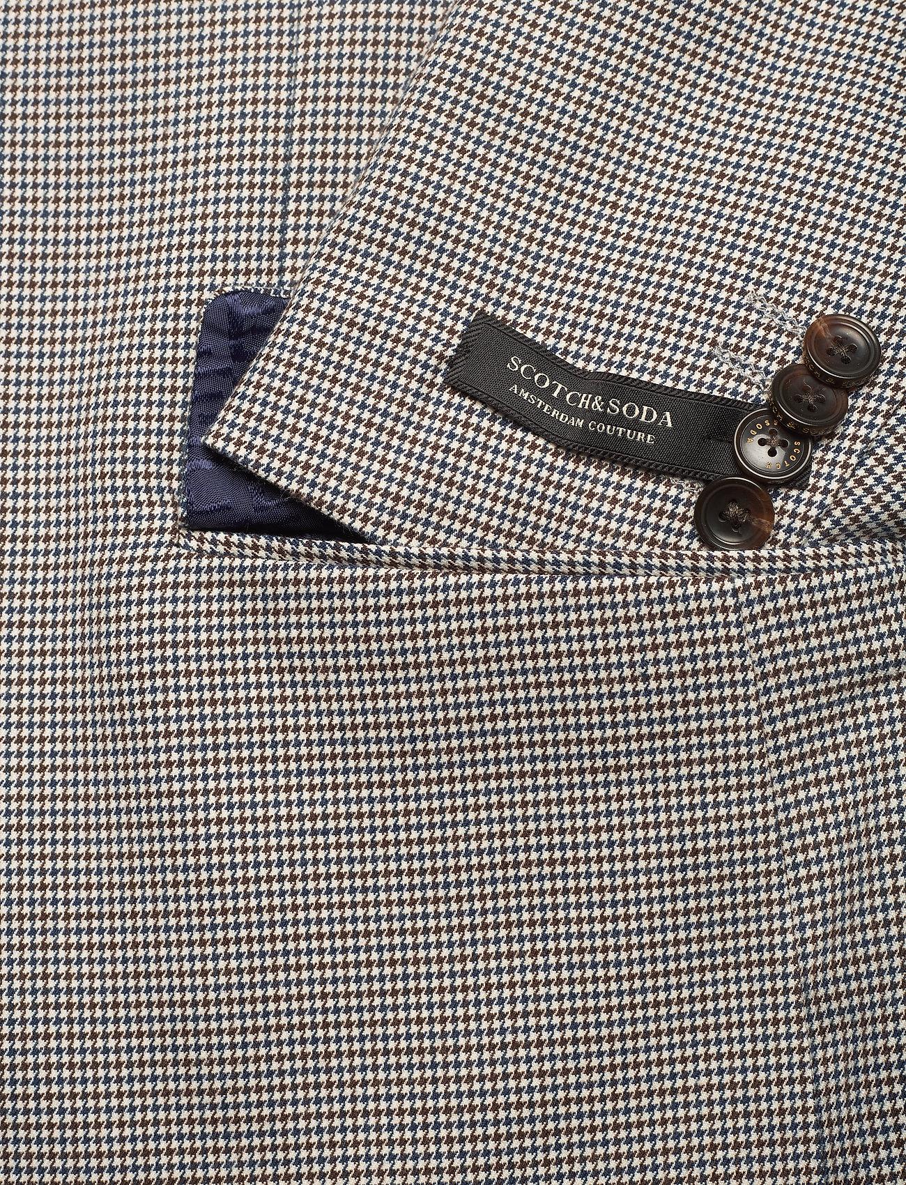 Scotch & Soda - Classic single breasted blazer in yarn-dyed pattern - blazers à boutonnage simple - combo f - 3