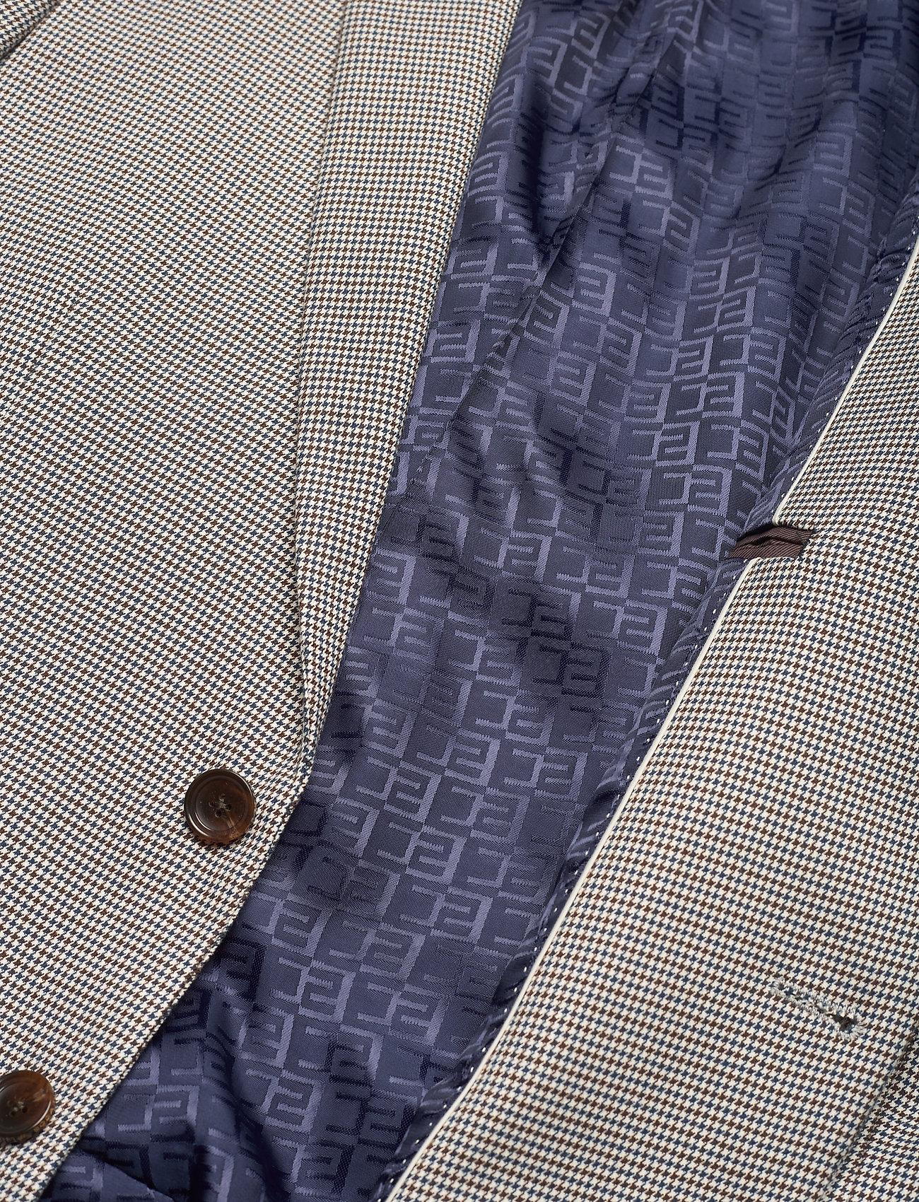 Scotch & Soda - Classic single breasted blazer in yarn-dyed pattern - blazers à boutonnage simple - combo f - 4
