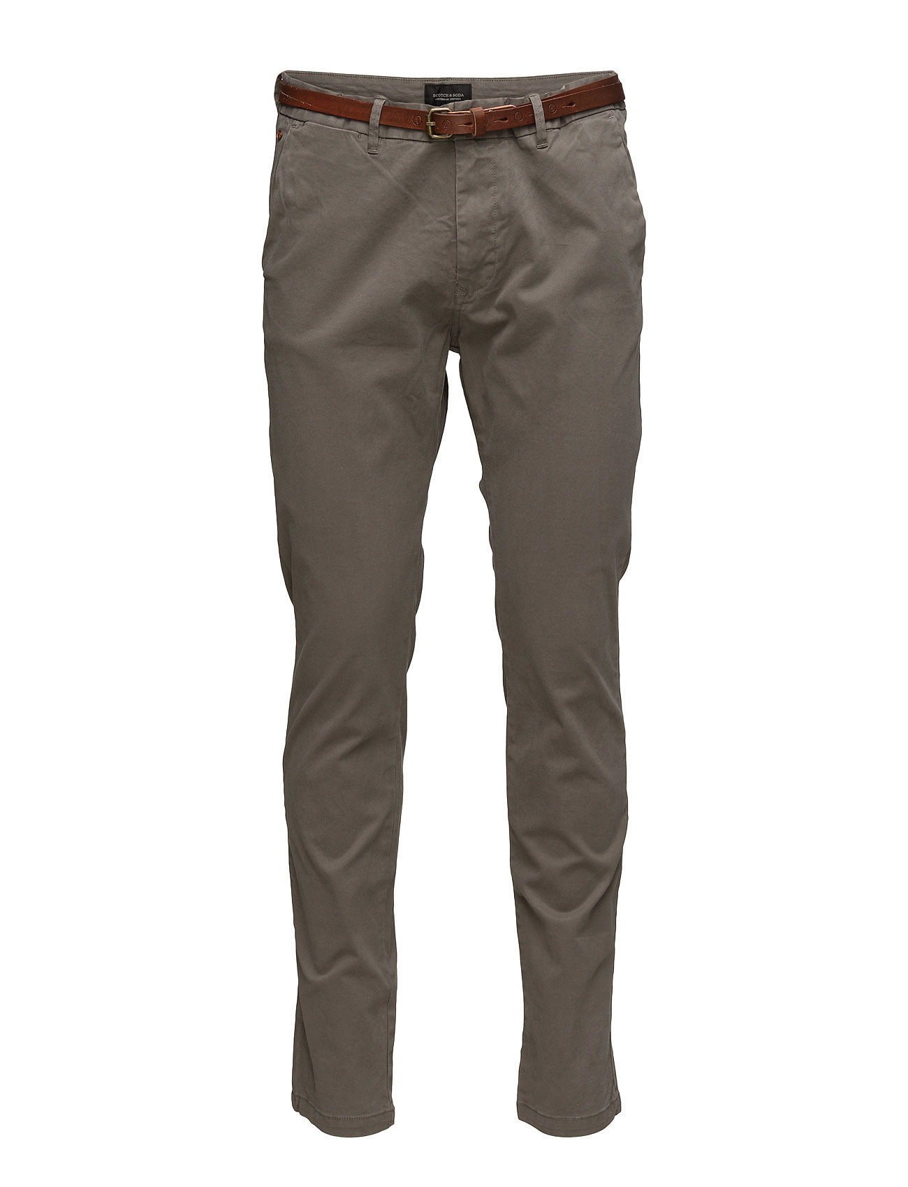 Dyed elastan Garment Chino Slim Cotton Soda PantgreyScotchamp; Fit oQWrxedCB