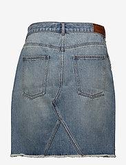 Scotch & Soda - Seasonal Denim Skirt - Customized Blauw - lyhyet - 2098 customized blauw - 1