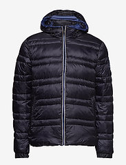 Scotch & Soda - Classic hooded down jacket - vestes matelassées - night - 1