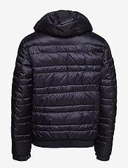 Scotch & Soda - Classic hooded down jacket - vestes matelassées - night - 2