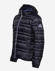 Scotch & Soda - Classic hooded down jacket - vestes matelassées - night - 3