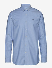 Scotch & Soda - NOS Oxford shirt regular fit button down collar - chemises basiques - blue - 0