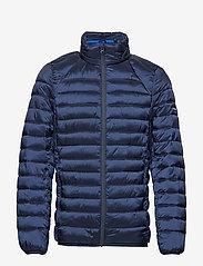 Scotch & Soda - Classic hooded light weight padded jacket - vestes matelassées - navy - 2