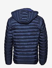 Scotch & Soda - Classic hooded light weight padded jacket - vestes matelassées - navy - 3