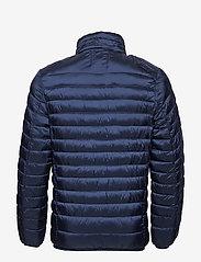 Scotch & Soda - Classic hooded light weight padded jacket - vestes matelassées - navy - 4