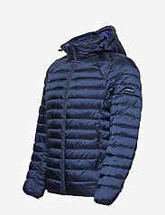 Scotch & Soda - Classic hooded light weight padded jacket - vestes matelassées - navy - 5