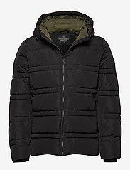 Scotch & Soda - Classic hooded PrimaLoft jacket - vestes matelassées - black - 0
