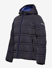 Scotch & Soda - Classic hooded PrimaLoft jacket - vestes matelassées - night - 3