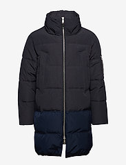 Scotch & Soda - Long quilted down jacket - vestes matelassées - night - 1