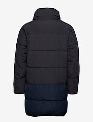 Scotch & Soda - Long quilted down jacket - vestes matelassées - night - 2
