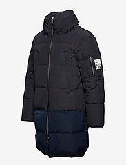 Scotch & Soda - Long quilted down jacket - vestes matelassées - night - 3