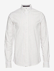 Scotch & Soda - REGULAR FIT- Classic oxford shirt with all-over print - chemises d'affaires - combo f - 0