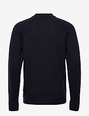 Scotch & Soda - Chic wool-blend raglan pull with high collar - tricots basiques - night - 1