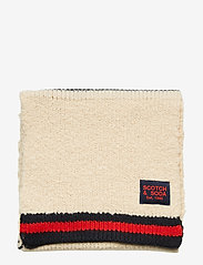 Scotch & Soda - Knitted teddy scarf - scarves - combo a - 2