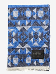 Scotch & Soda - Woven wool-blend scarf in mix and match patterns - scarves - combo b - 2