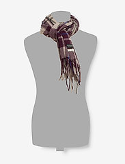 Scotch & Soda - Classic woven check scarf in wool-blend quality - scarves - combo b - 1