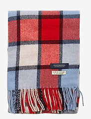 Scotch & Soda - Classic woven check scarf in wool-blend quality - scarves - combo c - 2