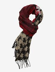 Scotch & Soda - Mixed pattern scarf - scarves - combo a - 0