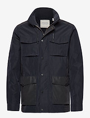 Scotch & Soda - 4 pocket military jacket - light jackets - midnight - 0
