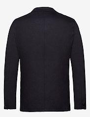 Scotch & Soda - Ams Blauw stretch denim blazer - blazers à boutonnage simple - indigo - 2